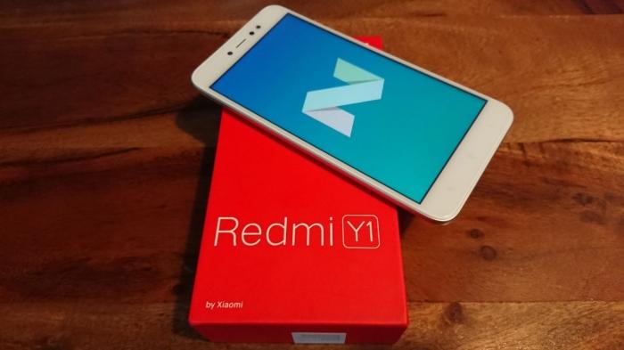 Xiaomi Redmi Y1 обзор селфифона